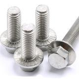 Vis à tête hexagonale en acier inoxydable DIN 6923