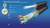 Telefono Aerial Service Wire con il sig. (Metallic Reinforced) con Six Twisted Pairs Construction