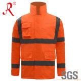 Зимние Professional для использования вне помещений рабочей одежды (QF586)