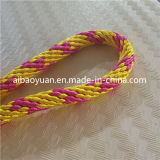 Nylon trenzado Yarms color oro y de cuero Correa Combinate