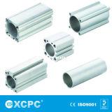 Tubo de aluminio se utiliza para el cuerpo del cilindro neumático