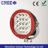 """180mm 7"""" 12V-24V 90 W LED CREE la luz de conducción offroad"""