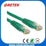 8p8c RJ45 Cat6 Ethernet UTP cabo patch cord