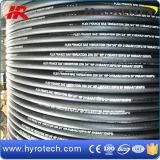 Zweidrahtflechten-hydraulischer Gummischlauch SAE 100 R2 an