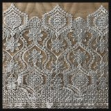 Шнурок вышивки Tulle с конструкцией способа
