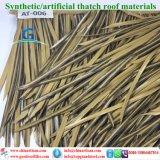 Tiki小屋のTiki棒艶出しリゾート8のための総合的なやし屋根ふき材料の人工的な屋根ふき材料