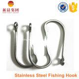 Amo di pesca d'argento del cerchio dello sgombro dell'acciaio inossidabile di colore 7691s