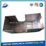Kundenspezifischer kleiner Blech-Kasten mit Metalldem stempeln