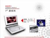 Q-701 equipa Tech Protable DVD com sintonizador de TV, PAL/SECAM/NTSC Sistema de Televisão Analógica