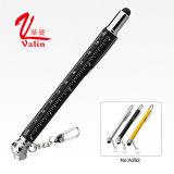 Promotion de l'écran tactile stylo à bille Outil multifonction 5 en 1 stylo sur vendre
