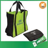BSCI vérifiés recyclables stratifié de pliage de promotion sac non tissé (MECO351)