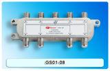 8-manier Sat/CATV Splitser met de Certificatie van Ce