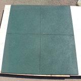 運動場のゴム製床タイル、正方形のゴム製タイル