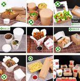 PET überzogenes Braunes Packpapier für Suppe-Filterglocke, Salat-Cup,