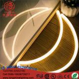 Luz ahorro de energía de la noche de la pared de la media luna de la muestra de neón de la flexión del LED 4.5V para la decoración del dormitorio del cabrito