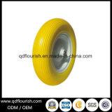 Pneumatico di rotella della gomma piuma dell'unità di elaborazione per la gomma solida della carriola 4.00-8