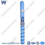 Bomba de agua sumergible de receptor de papel profundo de la turbina vertical
