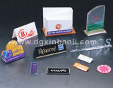 Signes acryliques et contre- présentoirs