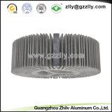 Disipador de calor de aluminio de la protuberancia del perfil de la decoración del material de construcción