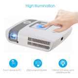 Mouse laser exterior LED Full HD 3D Projector para o Office