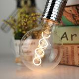 O filamento espiral aprovado G95 4W de SAA aquece o bulbo flexível branco do filamento do diodo emissor de luz para a iluminação do pendente
