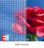 Rolado/figurado/teste padrão/Bilding/cristal