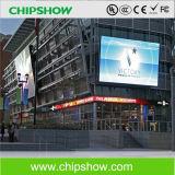 Colore completo esterno di Chipshow P10 che fa pubblicità alla visualizzazione di LED