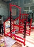 Equipamento de fitness ginásio comercial a força do Martelo de rack de Potência Olímpica e puxe para cima