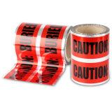 試供品の使用できる赤いカラー地下の探索可能な注意テープ