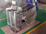 Ölige Klärschlamm-Behandlung, spiralförmiger Klärschlamm-entwässernmaschine für Verkauf