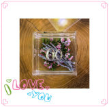 結婚指輪の贅沢なアクリルの花ボックスのためのアクリルボックス