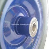 Rotella libera piana solida della gomma piuma dell'unità di elaborazione per i carrelli 5.00-6 del vagone