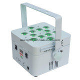 indicatore luminoso senza fili ricaricabile di PARITÀ della batteria DMX di 12PCS LED