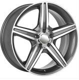 Jante de alumínio para a marca carro mais do que 100um design mais pequeno Rodas Réplica
