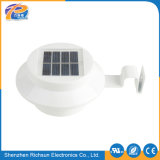 IP65 Solar al aire libre con luz LED blanco cálido