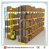 Armazenamento de trabalho pesado de depósito de aço estantes de paletes de exibição