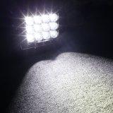 De op zwaar werk berekende Vierkante Offroad 4X4 LEIDENE CREE LEDs van 7 Duim 12*10W 120W DrijfLichten van het Werk