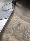 Kleine Flasche der Puder-füllenden und mit einer Kappe bedeckenden Maschine