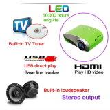 이 800 텔레비젼 영화 영상 가정 영화관 HDMI USB VGA AV ATV Projetor를 위한 소형 LED 영사기 지원 1080P 고전 LED 소형 영사기 60 루멘 Beamer