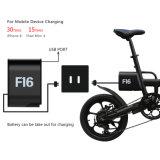 36V 250W mini Portable de 16 pouces pliant la bicyclette électrique