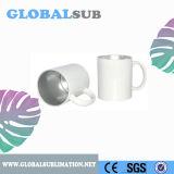 сублимация Two-Tone цвета 11oz прикрывает серебр кружки кофеего промотирования керамический