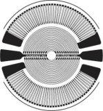 Rosette / Circle / Calibre de tensão redonda para sensor de pressão