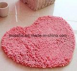 Il pavimento Shaggy del poliestere moderno copre la stuoia col tappeto del Chenille per la stanza da bagno della camera da letto