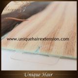 Extensões de trama de vista naturais do cabelo da pele de Remy