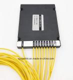 광섬유 8CH CWDM 플라스틱 상자 3.0mm LC/Upc