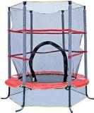 Ronda mini trampolín con red de seguridad para los niños