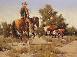 CaCow Jungen-Öl Paintingp (TRH-CM21)