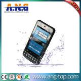 Cm388 13.56MHz leitor de tela do dispositivo portátil, leitor de códigos de barras 1D