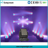 licht 15W*25PCS4in1 RGBW van de LEIDENE het Bewegende HoofdPartij van de Matrijs Lichte