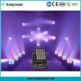 15W*25PCS 4in1 RGBW LED 이동하는 맨 위 매트릭스 빛 당 빛